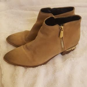 Circus By Sam Edelman Camel Suede Boots 8.5